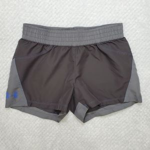 Under Armour/ Gray Shorts/ Size Youth Large